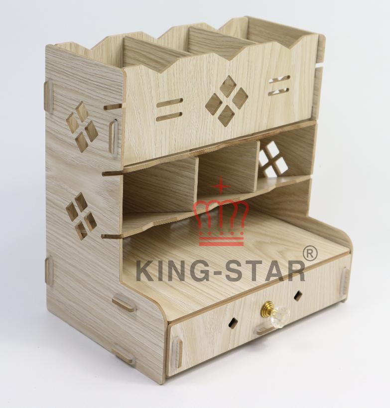 Kệ gỗ để bàn KS-18