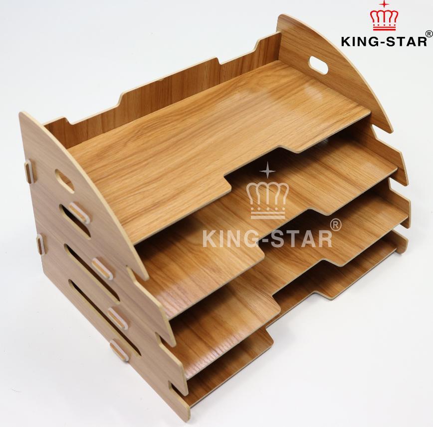 Kệ gỗ để bàn KS-25