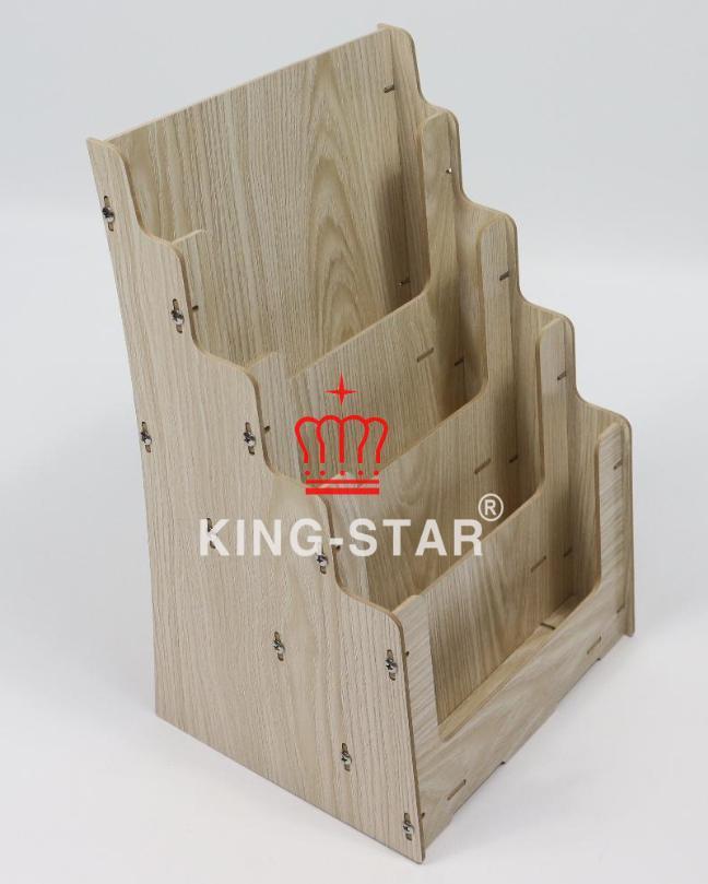 Kệ quảng cáo gỗ A4 KS-21
